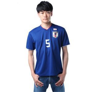 サッカー日本代表Tシャツ プレイヤーズTシャツ 長友佑都選手 5番 ネーム入り O-031 sc|himarayasc