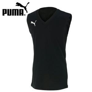 ジュニア プーマ PUMA サッカー フットサル ノースリーブ タンクトップ ジュニアSLインナーシャツ 655278-01    sc himarayasc