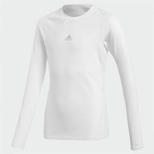 ジュニア アディダス adidas サッカー Tシャツ 半袖 KIDS ALPHASKIN TEAM ロングスリーブシャツ CW7325    sc himarayasc