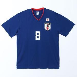 サッカー日本代表 Tシャツ プレイヤーズTシャツ 原口選手 8番 O-041 sc|himarayasc