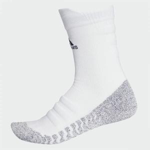 アディダス adidas  サッカー 靴下 ストッキング メンズ  ALPHASKIN グリップハーフクッション クルー ソックス  CG2674     sc|himarayasc