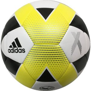 アディダス adidas サッカーボール 4号球 エックス ハイブリッド AF4646WY 検定球 sc|himarayasc