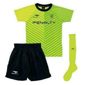 ペナルティー Penalty サッカーウェア 半袖シャツ ジュニア プラクティスセット インファント PU8202J-65 sc|himarayasc