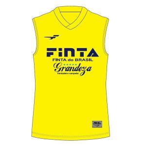 フィンタ FINTA サッカー インナーシャツ ジュニア JR ノースリーブシャツ FTB7267-4100 sc|himarayasc