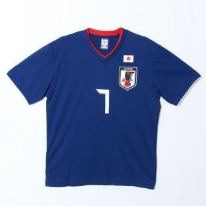 サッカー日本代表 Tシャツ プレイヤーズTシャツ 柴崎選手 7番 O-037 sc himarayasc