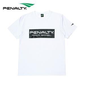 ペナルティー Penalty サッカーウェア 半袖シャツ メンズ 3DロゴTシャツ PT8130-10  sc|himarayasc