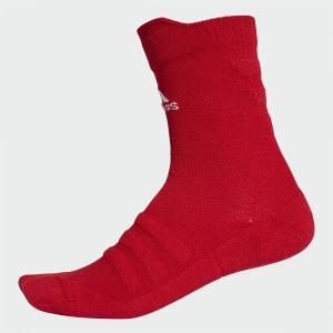 アディダス adidas  サッカー 靴下 ストッキング メンズ  ALPHASKIN ハーフクッションクルーソックス  CV7429     sc|himarayasc