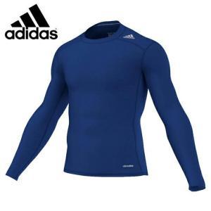 アディダス(adidas)  サッカー climalite コンプレッション 長袖(メンズ)  テックフィット BASE ロングスリーブ (AJ5018)2016FW  sc|himarayasc