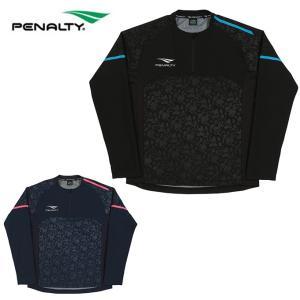 ペナルティー Penalty サッカーウェア ピステトップ メンズ ハイゲージハーフジップトップ PO8506 sc|himarayasc