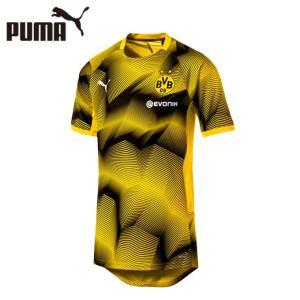プーマ サッカーウェア レプリカシャツ メンズ ドルトムント BVB スタジアム グラフィック ジャージー 754538 PUMA sc himarayasc