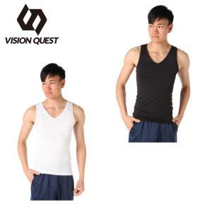 ビジョンクエスト VISION QUEST アンダーウェア ノースリーブ メンズ ストレッチインナーシャツ VQ570412I01  sc himarayasc