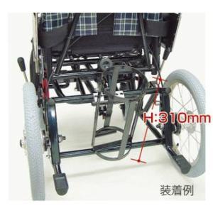 酸素ボンベ架台【KX専用:ボンベ外径100mm以下用】 -カワムラサイクル車椅子専用|himawari-kaigo