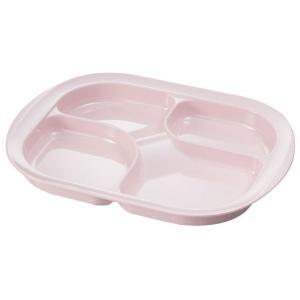 メラミン仕切り皿 カラー:ピンク (生活支援・介護予防用品) フォーライフメディカル D08009|himawari-kaigo