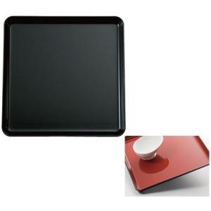 耐熱すべり止めトレー 角盆 カラー:ブラック (生活雑貨・自活) フォーライフメディカル himawari-kaigo
