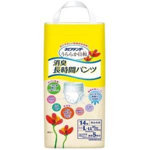ネピアテンダー 消臭長時間パンツ (L-LLサイズ) 1ケース(14枚入×4袋)|himawari-kaigo