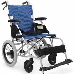 カワムラサイクル BML14-40SB [ソフトタイヤ(ノーパンク)仕様](後輪14インチ中床タイプ)【介助用車椅子】【※代引不可】|himawari-kaigo