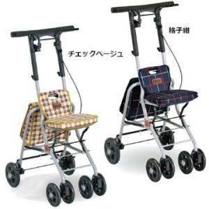 幸和製作所 PS-169 パインウォーカー コンパクトタイプ シルバーカー B03977|himawari-kaigo
