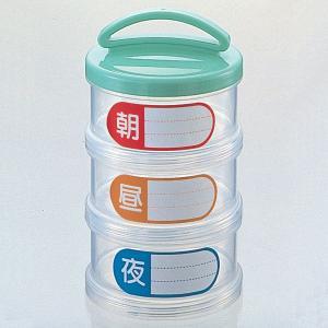 《在庫限り!》 薬入れ 3わけ (生活雑貨・自活) リッチェル D08934|himawari-kaigo