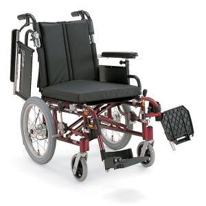 送料無料☆49.5%off!! KA716-40(38・42)B-LO アルミ製介助用車椅子 カワムラサイクル(車いす)|himawari-kaigo