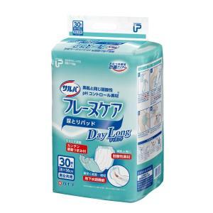 (Z) 白十字 P.Uサルバフレーヌケアデイロング 1袋(30枚入)  尿とりパット (パッド) 大人用おむつ 介護用オムツ (おしっこ約5回分)|himawari-kaigo