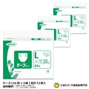 ケース販売 ネピアテンダー テープタイプ Lサイズ ケース(24枚入×2袋) G00412 大人用おむつ 紙おむつ 介護用オムツ|himawari-kaigo