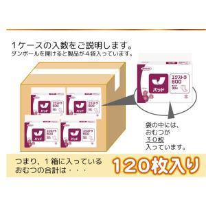 大人用 おむつ ネピアテンダー エクストラ600 SP ケース(30枚入×4袋) 尿とりパッド (パット) 大人用 紙おむつ 介護用オムツ (おしっこ約4回分)|himawari-kaigo|03