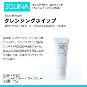 SQUINA(スクウィナ) クレンジングホイップ 70g 《 マルハニチロ 化粧品 スキンケア 》 himawari-kaigo