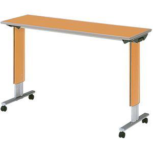 パラマウントベッド社 オーバーベッドテーブル 移動ロック機構なし [色:ミディアムオーク]|himawari-kaigo