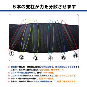 腰痛ベルト 腰痛対策サポーター ささえ腰ガード 安心の返品保証 カラー:ブラック ひまわり 腰痛ベルト 予防 サポーター 腰用ベルト 腰ベルト 男女兼用|himawari-kaigo|04