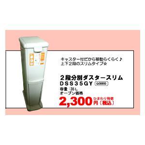 2段分別ダスタースリム(DSS35GY)Q08900|himawari-kaigo
