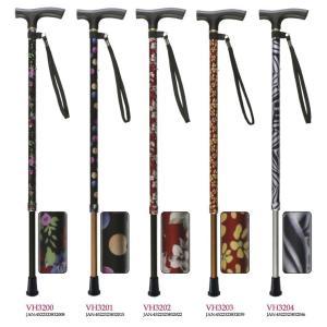 杖 ステッキ 軽量 さぽーと 雨にも負けず 2段伸縮ステッキ VH32型 VH3200-VH3204 介護用品|himawari-kaigo