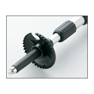 杖 ステッキ 軽量 緩衝機能付伸縮ステッキ V0型 硬質アクリルグリップ 介護用品|himawari-kaigo|03