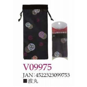 ささえ京友禅 「波丸」収納袋 (四つ折杖用:V84型)|himawari-kaigo