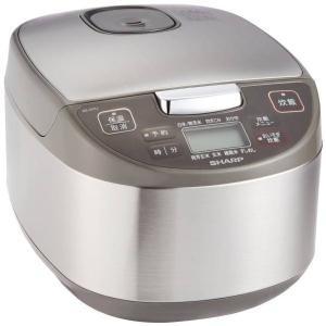 在庫残りわずか 1人1台までお願いします。 炊飯器(5.5合タイプ) SHARPKSS10JS ●内...