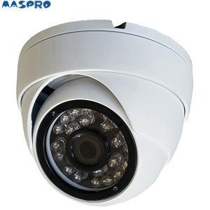 マスプロ フルハイビジョンAHDドーム型カメラ ASM08 アナログカメラを既存配線のままフルハイビジョンに置換|himawaridensetsu