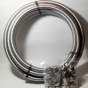 フレキチューブ 3/4(20A)×10m巻と袋ナット10組セット ステンレスSUS316L 即日出荷|himawaridensetsu