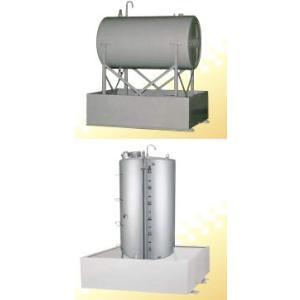 サンダイヤ 防油堤 HA19-2119G 鋼板製 耐震1.0G 適合YV-1900G1,YV-1900RG1|himawaridensetsu