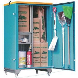 緊急油処理ボックス RCM-1 油吸着材、回収ネット、スコップ、防塵メガネ他 受注生産品|himawaridensetsu