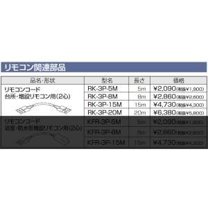 長府 RK-3P-15M リモコンコード15m 台所・増設リモコン用(2心)|himawaridensetsu