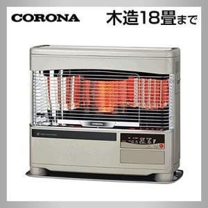 コロナ UH-F7019PK-N シャインゴールド FF式床暖ストーブ 液晶ボイスクリアビュー 遠赤ブレード himawaridensetsu