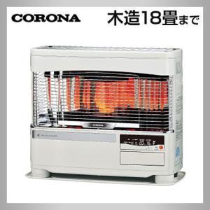 コロナ UH-F7019PK-W ホワイト FF式床暖ストーブ 液晶ボイスクリアビュー 遠赤ブレード himawaridensetsu