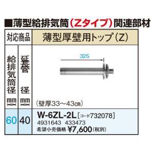 サンポット W-6ZL-2L 薄型厚壁用トップ(Zタイプ)|himawaridensetsu