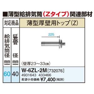 サンポット W-6ZL-2M 薄型厚壁用トップ(Zタイプ)|himawaridensetsu