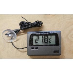 特徴 ・気温・水温を測定できる多機能水温計です。 ・熱帯魚、小動物、爬虫類の温度管理に最適です。 ・...