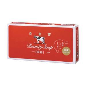商品名:カウブランド 牛乳石鹸 赤箱 100g×3個入 JANコード:4901525137034  ...