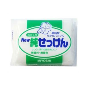 商品名:ミヨシ NEW 純せっけん 190g JANコード:4904551043119  発売元、製...