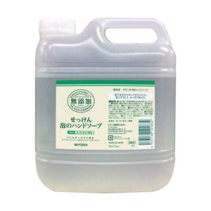 商品名:ミヨシ 無添加 せっけん 泡のハンドソープ ポンプ 3L(無添加石鹸) JANコード:453...