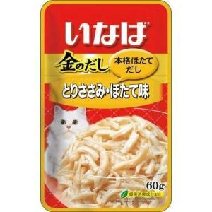 いなば 金のだし とりささみ・ほたて味 60g|himejiryutsuu
