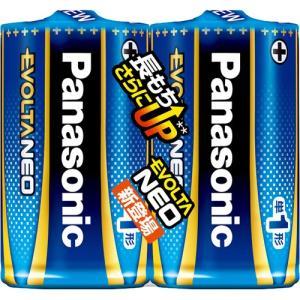 商品名:パナソニック アルカリ乾電池 EVOLTA NEO(エボルタネオ) 単1形 2本パック LR...