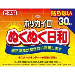 商品名:興和 ホッカイロ ぬくぬく日和 貼らない レギュラー 30個 JANコード:49870678...